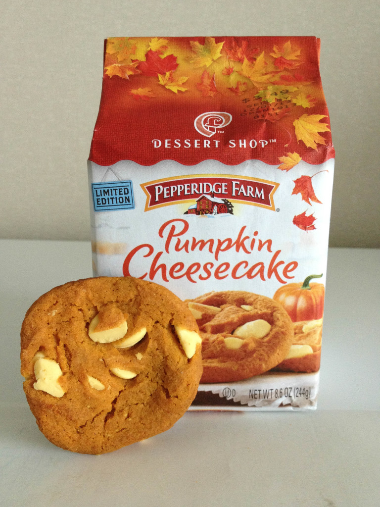 pumpkin cheesecake bag