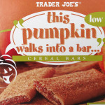 pumpkin granola bar box