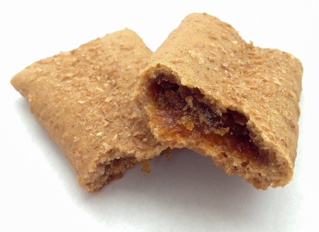 pumpkin granola bar cross section